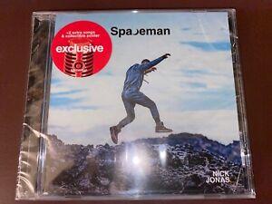 CD - NICK JONAS - Spaceman - Target Exclusive (w/2 extra songs & poster) SEALED!