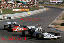 Peter Revson McLaren M19A South African Grand Prix 1972 Photograph 1