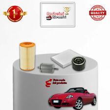 KIT TAGLIANDO 4 FILTRI FIAT BARCHETTA 1.8 16V 96KW 130CV DAL 1995 -> 2005