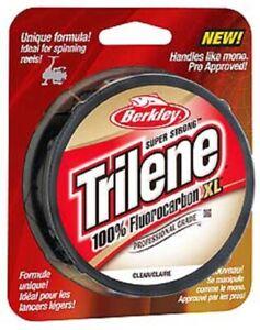 Berkley Trilene XL100% Fluorocarbon Pro Grade Fishing Line, Choice of  Sizes