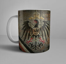 WWI German Patriotic Coffee Mug With God for Emperor and Empire WW1 German Eagle