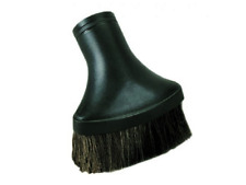 """Fit All 1.25"""" Vacuum Cleaner Deluxe Oval Horse Hair Dust Brush Black 1 1/4 Vac"""