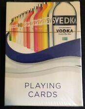 2015 Svedka Vodka Advertising Playing Cards Sealed Spirits Marque One Swedish
