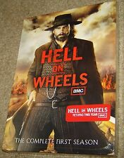 Hell on Wheels: Season 1 (DVD, 2012, 3-Disc Set), NEW AND SEALED, 10 EPISODES