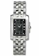 Concord Women's Sportivo Black Dial Stainless Steel Bracelet Watch