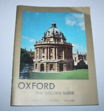 Oxford, The Golden Guide - Ralph Brain - 1972
