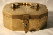 Antique (or close) Brass Spice Safe Lockable
