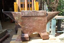 717,5 LBS VINTAGE FRENCH INDUSTRY BLACKSMITH anvil from