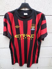 Maillot MANCHESTER CITY UMBRO shirt 2012 away M.C.F.C football jersey 44 Eur 54