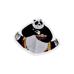 New Custom Kung Fu Panda Bear Carton Character China Dragon Floor Mat Carpet Rug