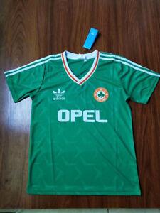1990-92 Ireland Home Soccer Jersey
