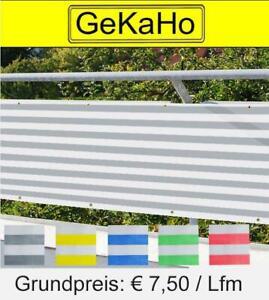 Balkonverkleidung 70 cm, Sichtschutz, Windschutz, Balkonumspannung 270g/m²