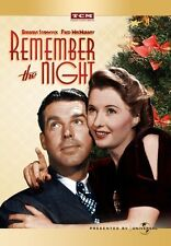 Remember the Night 1940 (DVD) Barbara Stanwyck, Fred MacMurray - New!
