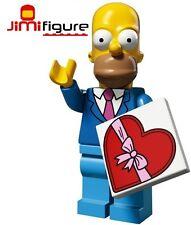 NEW LEGO Minifigures Date Night Homer Simpsons Series 2 71009 Sunday Best Figure