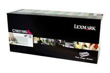 Lexmark GENUINE MAGENTA/PINK Laser Printer Toner Cartridge C782X1MG C782,X782