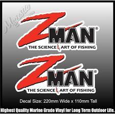 Z-MAN - DECALS - 220mm x 110mm X 2 - DECALS