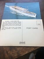 Lot Of 5 Vintage Ss Lurline Postcards Matson Luxury Liner