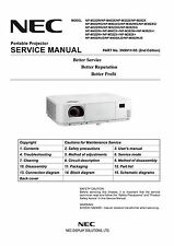 DLP, LCD Projector Service Manual and Repair Guide - Epson, Nec, many models