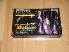 F-ZERO FOR NINTENDO GAME BOY ADVANCE GBA MADE IN JAPAN USED COMPLETE