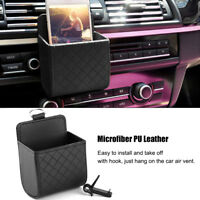 Car Universal Auto Storage Box Pouch Bag Phone Charge Holder Pocket Organizer