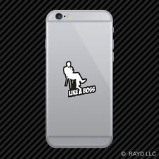 Like A Boss Cell Phone Sticker Mobile jdm euro