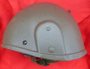 britischer Gefechtshelm GS MK.6, oliv, Gr.: M ( bis Kopfgröße 60 ) mit NATO Nr.