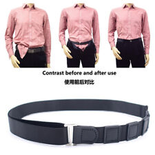 Shirt Stay Holder Adjustable Belt Non-slip Wrinkle-Proof Locking Belt Strap Us