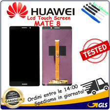 DISPLAY LCD +TOUCH SCREEN VETRO PER HUAWEI ASCEND MATE 8 NXT-L29 NERO