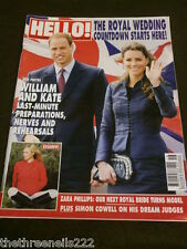 HELLO! MAGAZINE - ROYAL WEDDING COUNTDOWN - APRIL 25 2011