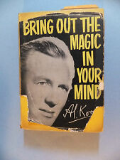 Book Bring Out The Magic In Your Mind Al KORAN 1967 Hardcover Collectible