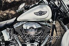 Harley Davidson Motorcycle Close-up, Fine Art Photo, Harley 100 Years, Americana