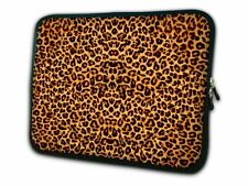 "13"" Leopard Prints Laptop PC Sleeve Bag F 13.3"" Toshiba Portege /Macbook Pro,Air"