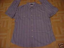 Men's No Boundaries Gray Urban Design Shirt Size 42-44