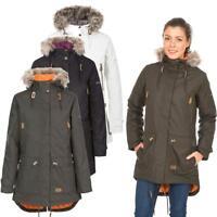 Trespass Clea Womens Waterproof Padded Jacket | Ladies Coat