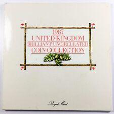 New listing Gb Elizabeth Ii Uncirculated Set - 1987 + Superb Condition +[800-02-2]