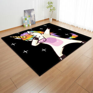 Unicorn Serie Small Large Long Floor Carpet Area Rugs Various Size Soft Cute Rug