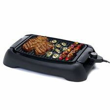 Electric Grill Portable Indoor NonStick EasyClean Barbecue Smokeless Cooking BBQ