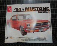 Amt 64 1/2 Mustang HT Model Kit 1/16 In Box