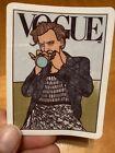 Harry Styles Vogue Cover Vinyl VSCO Sticker / Canvas Art Aesthetic VSCO Decal