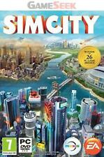 SIMCITY (NEW SIM CITY) - PC BRAND NEW FREE DELIVERY