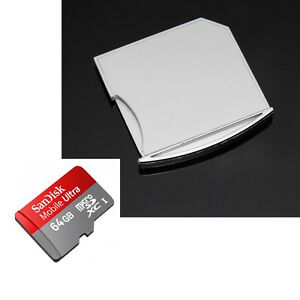 64GB Bundle-Macbook Air Pro Retina Micro SD adapter (extra storage nifty style)