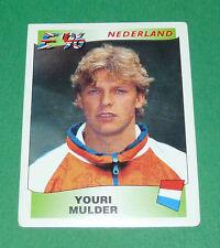 N°92 MULDER NEDERLAND PAYS-BAS PANINI FOOTBALL UEFA EURO 96 EUROPE EUROPA 1996