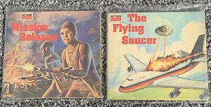 Action Man Mission Release and The Flying Saucer Book - RETRO - VGC Free UK PP