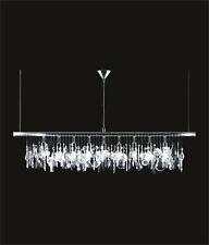 lighting fixture 10 lights crystal pendant