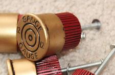 ONE 12 Gauge Shotgun Shell Handle Cabinet Door Drawer Knob Cabin Decor Hunting