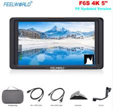 "Feelworld F6S 5"" 4K On-Camera Video Monitor 1920x1080 HDMI Camera Field Monitor"