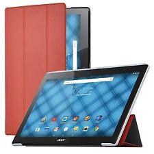Premium Slim Folding Case for ASUS ZenPad 10 Z300m Z300c Z300cg Z300cl Red