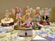 Lot Of 6 Resin Decorative Fairy Figurines