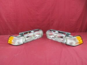 NOS OEM Buick Century Headlamp Light Lamp Assembly 1991 - 1996 PAIR