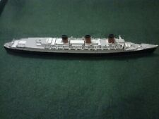 Vintage Diecast Queen Mary Ship Toy.